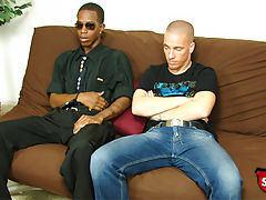 Hot interracial straight boy gay for pay action
